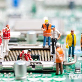 Inspecteren en repareren processor